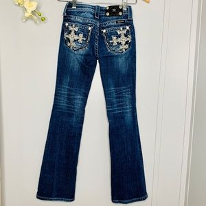 Miss Me Jeans Bootcut Girl's Size 10